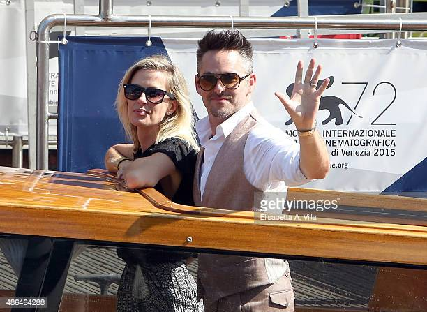 Director Scott Cooper and wife Jocelyne Cooper are sighted on September 4 2015 in Venice Italy