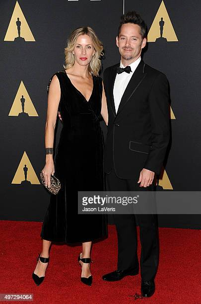 Director Scott Cooper and wife Jocelyne Cooper attend the 7th annual Governors Awards at The Ray Dolby Ballroom at Hollywood Highland Center on...