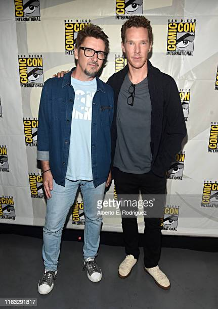 Director Scott Derrickson and Benedict Cumberbatch of Marvel Studios' 'Doctor Strange in the Multiverse of Madness' at the San Diego Comic-Con...
