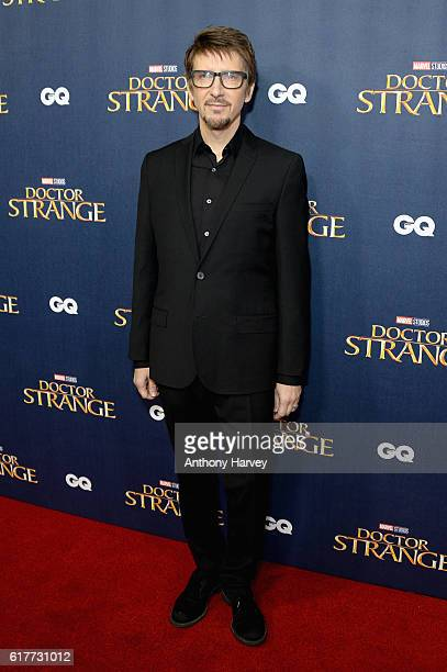 Director Scott Derrickson attends the red carpet launch event for 'Doctor Strange' at Westminster Abbey on October 24 2016 in London United Kingdom