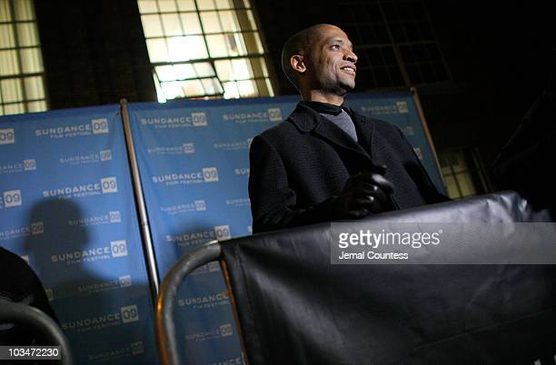 Director Scott Sanders speaks at the premiere of Black Dynamite during the 2009 Sundance Film Festival at Library Center Theatre on January 18 2009