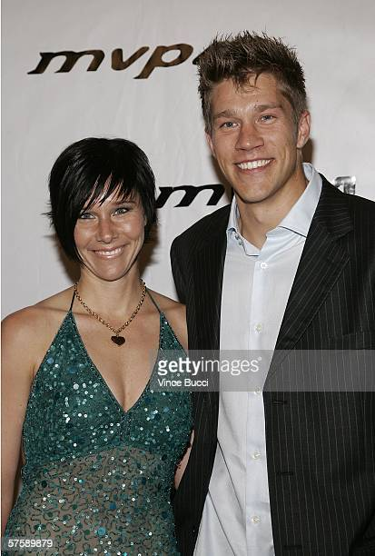 Director Scott Speer and guest attend the Music Video Production Association's 15th Annual MVPA Awards at the Orpheum Theatre on May 11 2006 in Los...