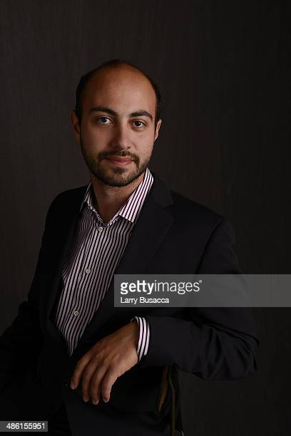 Director/ screenwriter Alexander Berman from 'APP' poses at the Tribeca Film Festival Getty Images Studio on April 22 2014 in New York City