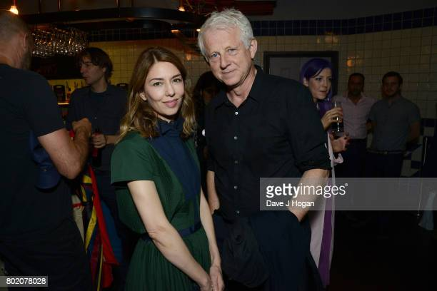 Director screenwriter and producer Sofia Coppola and screenwriter Richard Curtis attend the screening of 'The Beguiled' at Picturehouse Central on...