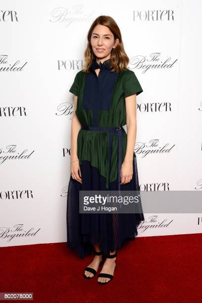Director screenwriter and producer Sofia Coppola attends the screening of 'The Beguiled' at Picturehouse Central on June 27 2017 in London England