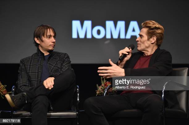 Director Sean Baker and actor Willem Dafoe attend the Hammer Museum Presents The Contenders 2017 The Florida Project at The Hammer Museum on December...