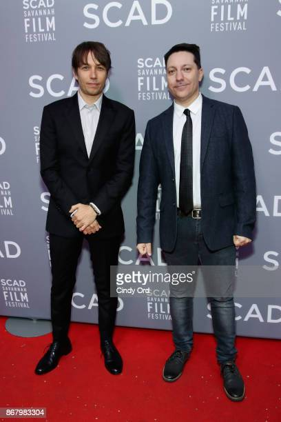 Director Sean Baker and screenwriter Chris Bergoch attend Red Carpet & Gala Screening of 'Mudbound' at Trustees Theater during the 20th Anniversary...