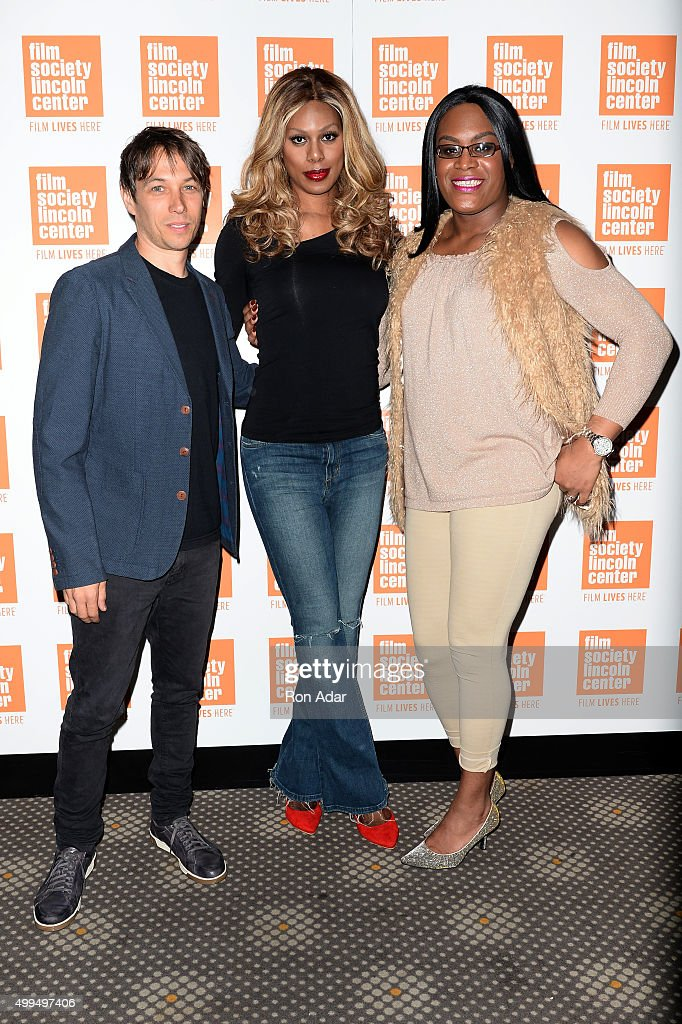Director Sean Baker, Laverne Cox and Mya Taylor attend the 'Tangerine' New York Screening Hosted By Laverne Cox at Elinor Bunin Munroe Film Center on December 1, 2015 in New York City.