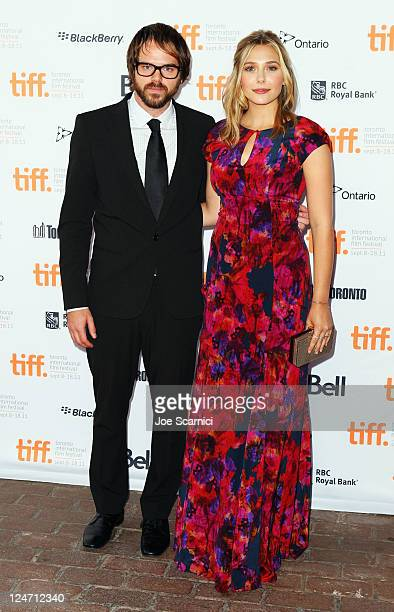 Director Sean Durkin and actress Elizabeth Olsen attend the Martha Marcy May Marlene premiere at Ryerson Theatre during the 2011 Toronto...