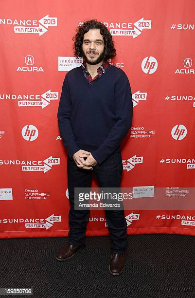 Director Sean Fine arrives at the 2013 Sundance Film Festival Premiere of Life According To Sam at Temple Theater on January 21 2013 in Park City Utah