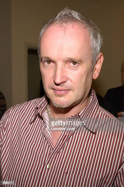 Director Sean Mathias arrives at a gathering for the announcement of the Broadway production of The Elephant Man February 11 2002 in New York City