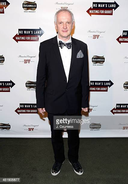 Director Sean Mathias attends the No Man's Land Waiting For Godot Opening Night after party at the Bryant Park Grill on November 24 2013 in New York...