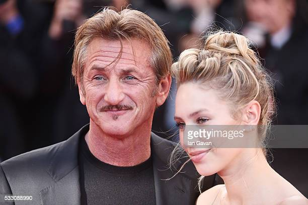 Director Sean Penn and his daughter Dylan Penn attend The Last Face Premiere during the 69th annual Cannes Film Festival at the Palais des Festivals...