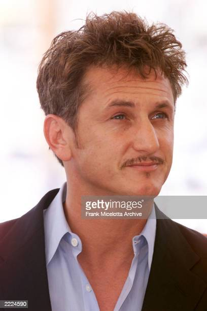 Director Sean Penn at the 'The Pledge' photo call during the 54th Cannes Film Festival in Cannes France Photo by Frank Micelotta/ImageDirect