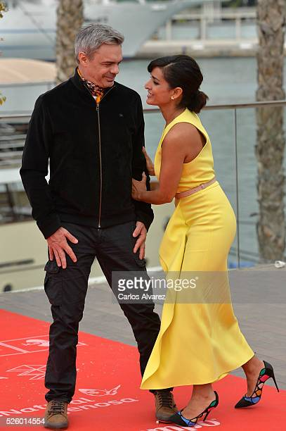 Director Sebastian Borensztein and actress Inma Cuesta attend Koblic photocall duing the 19th Malaga Film Festival on April 29 2016 in Malaga