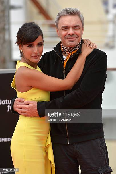 Director Sebastian Borensztein and actress Inma Cuesta attend Koblic photocall duing the 19th Malaga Film Festival on April 29 2016 in Malaga Spain
