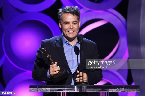 Director Sebastian Lelio accepts Best International Film for 'A Fantastic Woman' onstage during the 2018 Film Independent Spirit Awards on March 3,...