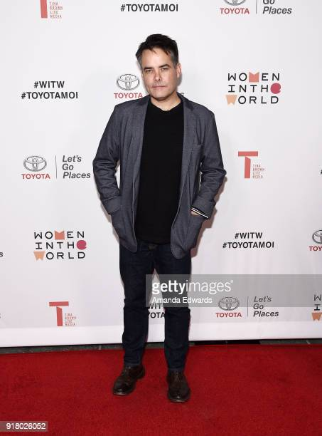 Director Sebastian Lelio arrives at the 2018 Women In The World Los Angeles Salon at NeueHouse Hollywood on February 13 2018 in Los Angeles California