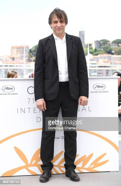 Director Sergei Dvortsevoy attends 'Ayka ' Photocall during the 71st annual Cannes Film Festival at Palais des Festivals on May 18 2018 in Cannes...