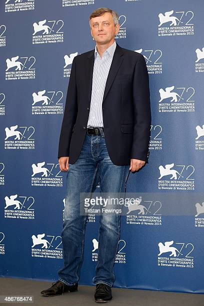 Director Sergei Loznitsa attends a photocall for 'The Event' during the 72nd Venice Film Festival at Palazzo del Casino on September 5 2015 in Venice...