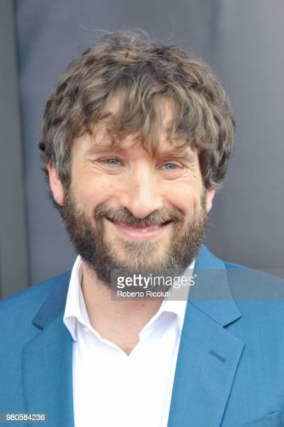 Director Sergio G Sanchez attends a photocall for the UK Premiere of 'The Secret of Marrowbone' during the 72nd Edinburgh International Film Festival...