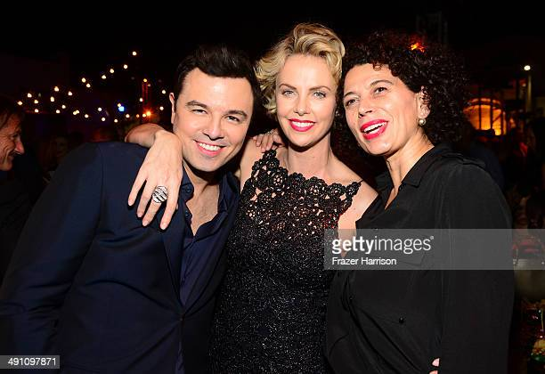 Director Seth MacFarlane actress Charlize Theron and Universal Pictures CoChair Donna Langley attend the after party for the premiere of Universal...
