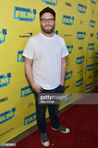Director Seth Rogen attends the screening of 'Preacher' during the 2016 SXSW Music Film Interactive Festival at Paramount Theatre on March 14 2016 in...