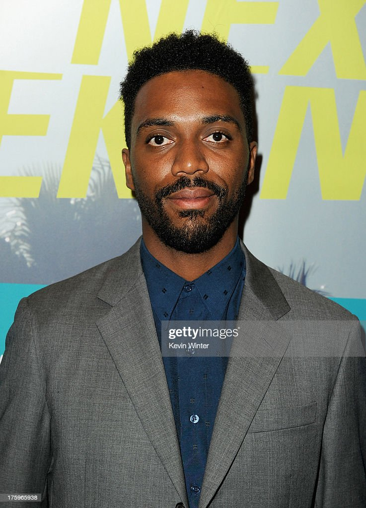 Director Shaka King attends 'Newlyweeds' premiere during NEXT WEEKEND, presented by Sundance Institute at Sundance Sunset Cinema on August 10, 2013 in Los Angeles, California.