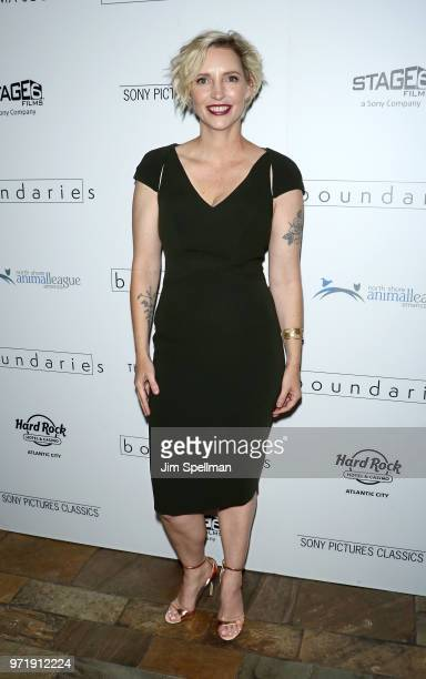 Director Shana Feste attends the screening of Sony Pictures Classics' 'Boundaries' hosted by The Cinema Society with Hard Rock Hotel and Casino...