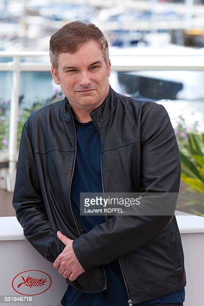 Director Shane Black attends 'The Nice Guys' photocall during the 69th annual Cannes Film Festival at the Palais des Festivals on May 15 2016 in...