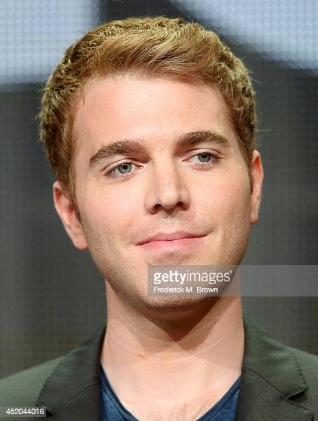 Director Shane Dawson speaks onstage at the The Chair panel during the Starz portion of the 2014 Summer Television Critics Association at The Beverly...