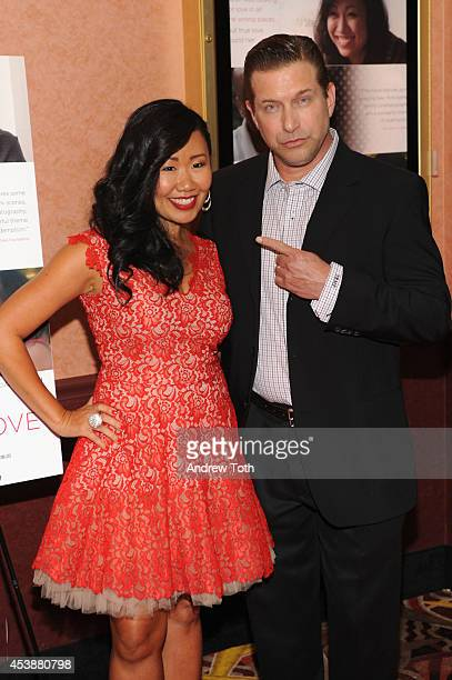 Director Sharon Kon and actor Stephen Baldwin attend the 'The Father's Love' New York Premiere at AMC Loews 34th Street 14 theater on August 20 2014...