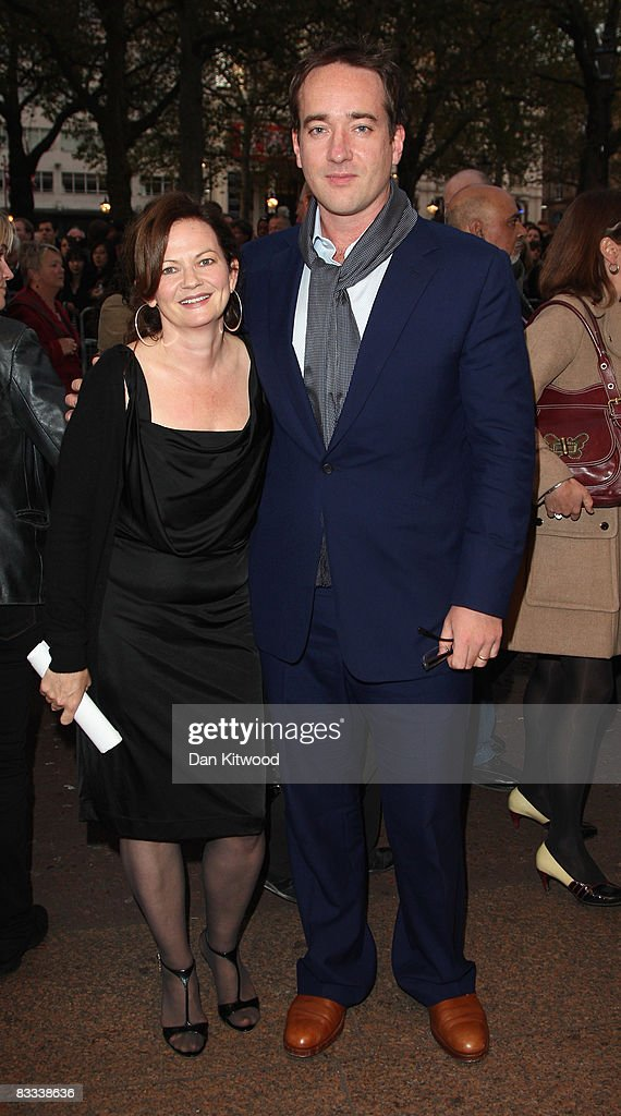 Director Sharon Maguire and actor Matthew Macfadyen arrives at the BFI 52nd London Film Festival European Premiere of Incendiary in Leicester Square on October 18, 2008 in London, England.