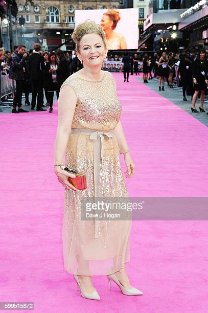 "Director Sharon Maguire arrives for the world premiere of ""Bridget Jones's Baby"" at Odeon Leicester Square on September 5, 2016 in London, England."