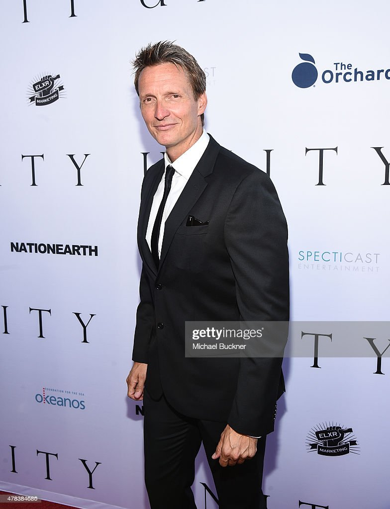 Director Shaun Monson attends the world premiere of 'UNITY' at the DGA Theater on June 24, 2015 in Los Angeles, California.