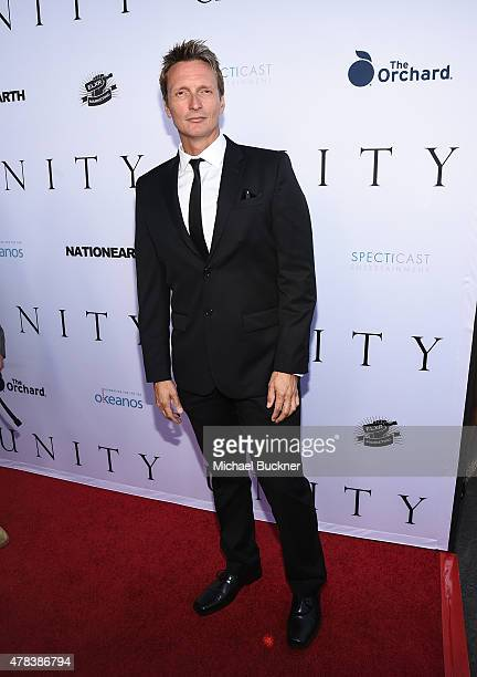 Director Shaun Monson attends the world premiere of UNITY at the DGA Theater on June 24 2015 in Los Angeles California