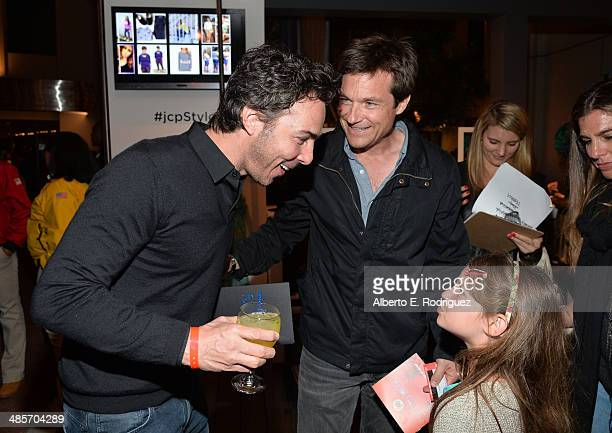 Director Shawn Levy actor Jason Bateman and Francesca Nora Bateman attend the City Year Los Angeles Spring Break Fundraiser at Sony Studios on April...