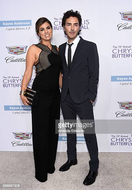 Director Shawn Levy and Serena Levy arrive at the 15th Annual Chrysalis Butterfly Ball on June 11 2016 in Brentwood California