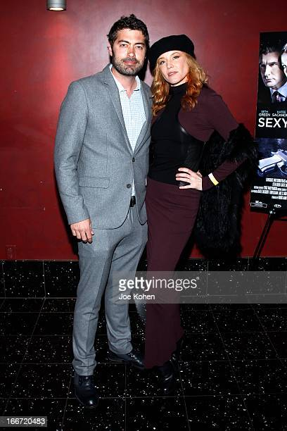 Director Shawn Piller and actress Kristen Dalton attend Sexy Evil Genius Private Benefit Screening at ArcLight Hollywood on April 15 2013 in...