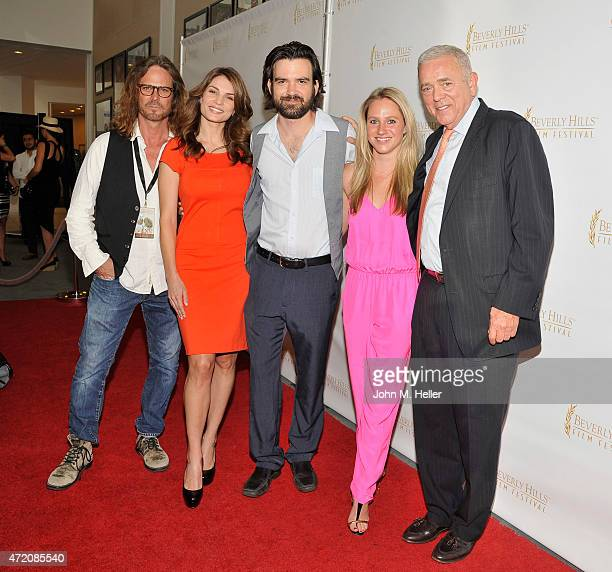 Director Shawn Thompson actors Adrienne Rusk Justin Henry Alex Liiv and director of American Caravan Jerome Gary attend the World Premiere of...