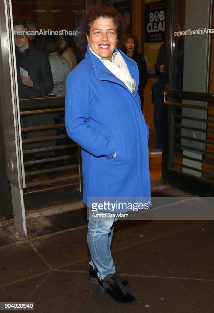 Director Sheryl Kaller attends 'John Lithgow Stories By Heart' opening Night at American Airlines Theatre on January 11 2018 in New York City