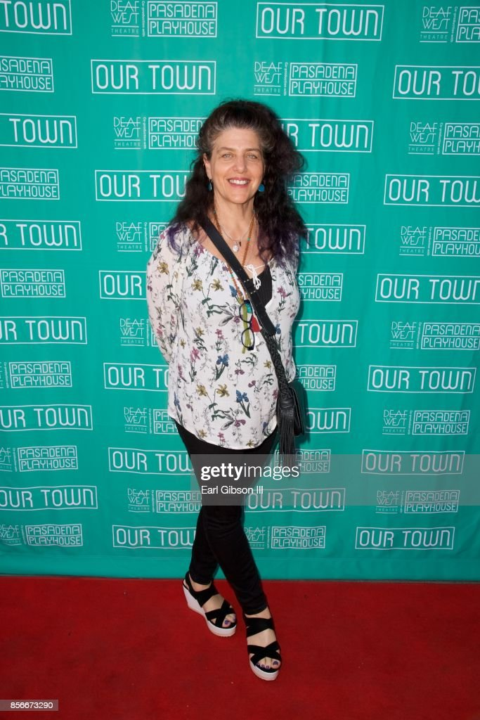 Director Sheryl Kaller attends the Pasadena Playhouse And Deaf West Theatre's 'Our Town' Opening Night at Pasadena Playhouse on October 1, 2017 in Pasadena, California.
