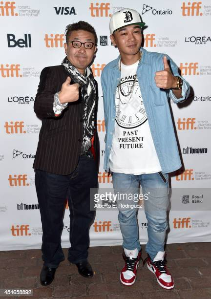 Director Shion Sono and rapper Young Dais attend the Tokyo Tribe premiere during the 2014 Toronto International Film Festival at Ryerson Theatre on...