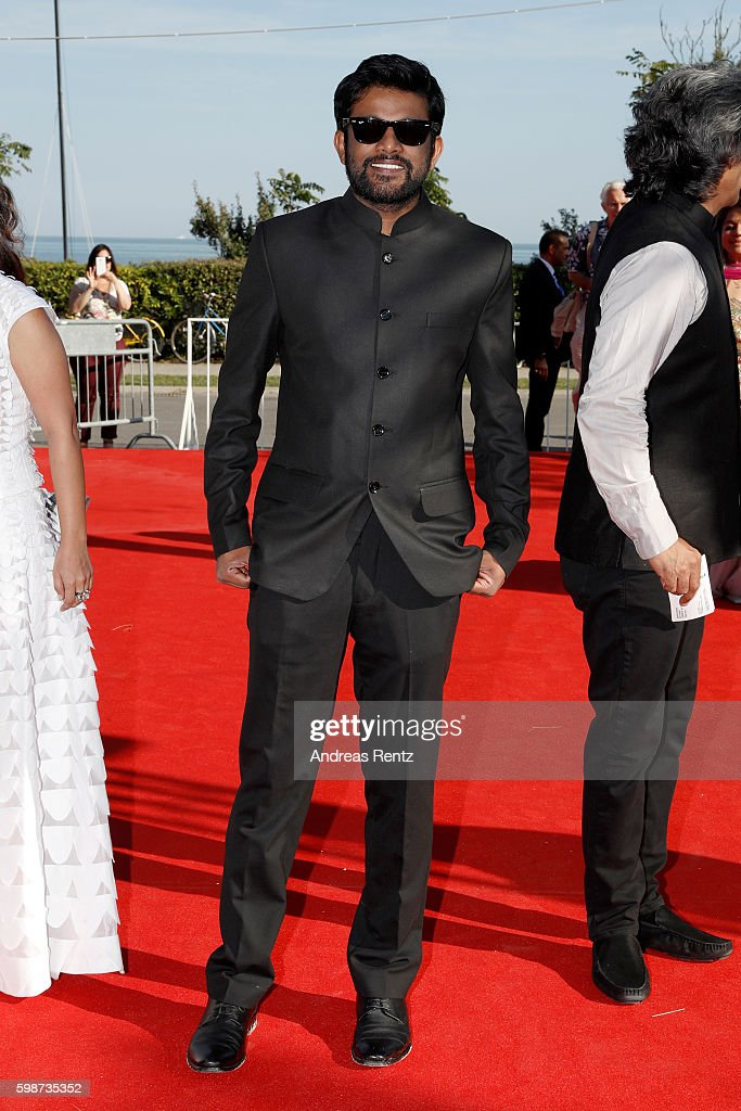 Director Shubhashish Bhutiani attends the premiere of 'Hotel Salvation' Premiere during the 73rd Venice Film Festival at Sala Giardino on September 2, 2016 in Venice, Italy.
