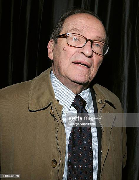 Director Sidney Lumet attends the 2007 New York Film Critics Circle Awards at Spotlight on January 6 2008 in New York City