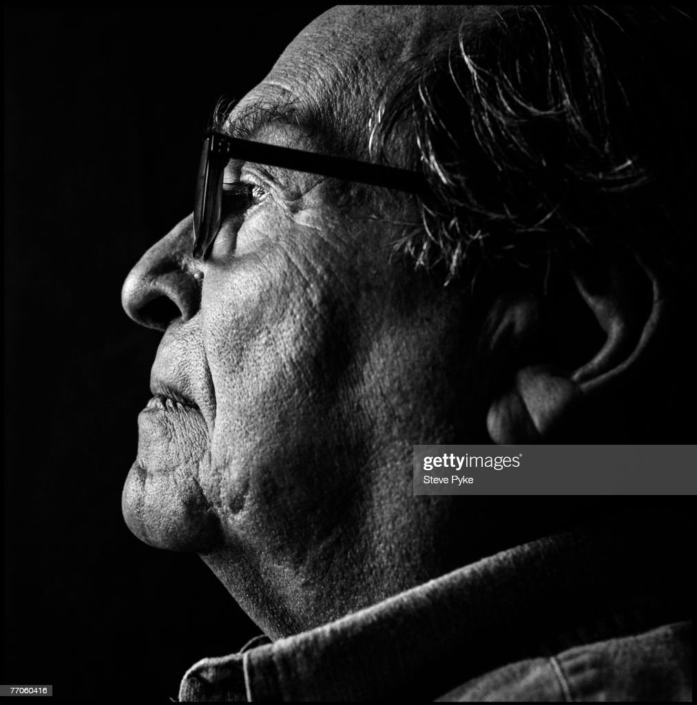 Director Sidney Lumet poses at a spec shoot portrait session in New York on August 24, 2007.
