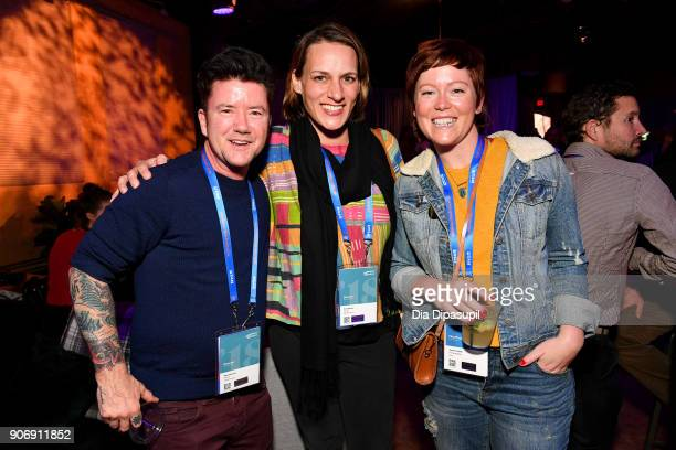 Director Silas Howard Director Amy Adrion and Cinematographer Autumn Eakin attend the Filmmakers Welcome Reception during the 2018 Sundance Film...