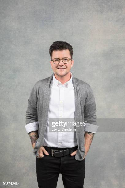 Director Silas Howard from the film 'A Kid Like Jake' is photographed for Los Angeles Times on January 21 2018 in the LA Times Studio at Chase...