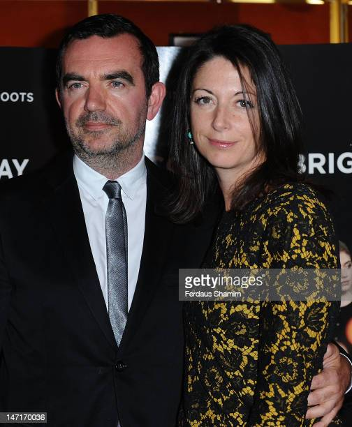 Director Simon Aboud and Mary McCartney attend a screening of 'Comes A Bright Day' at The Curzon Mayfair on June 26 2012 in London England