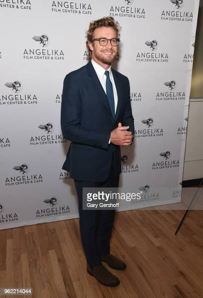 Director Simon Baker attends the 'Breath' New York screening at Angelika Film Center on May 24 2018 in New York City
